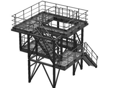 промышленные лестницы каркасы