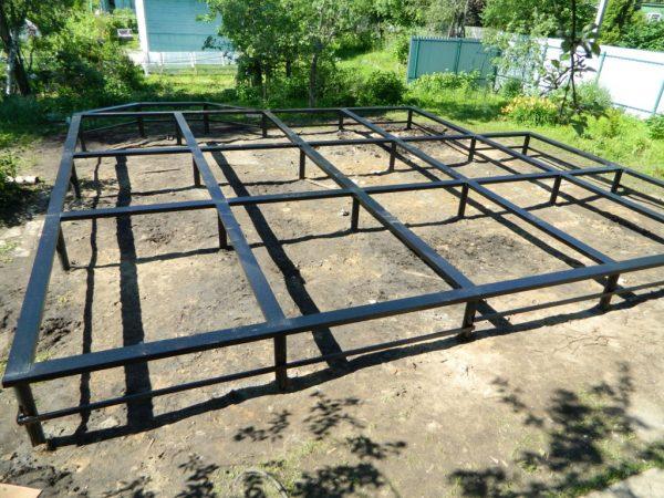 Винтовой фундамент в Томске