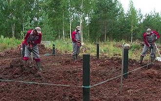 Фундамент на винтовых сваях на торфяном грунте возможен при помощи завода винтовых свай АС-ВинтБур.