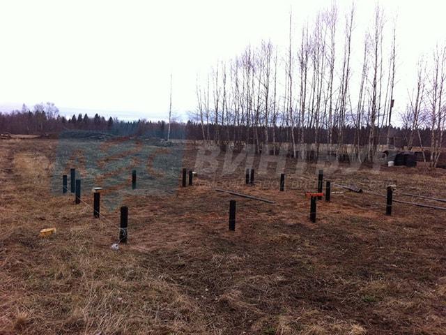 Фундамент на винтовых сваях в Томске в наличии и под заказ. В короткие сроки установим фундамент на винтовых сваях.