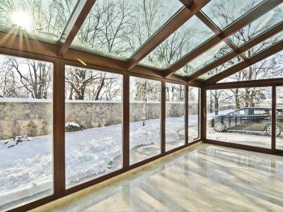 Каркасные зимние сады под ключ строительство зимних садов недорого в Томске и области.