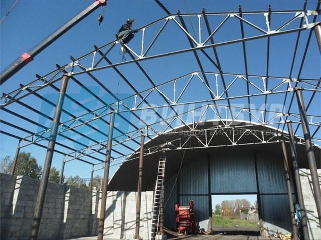 Металлоконструкции в Томске. Конструкции из металла Томск недорого. Короткие сроки и отличное качество.