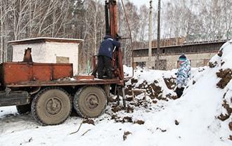 Монтаж свай зимой в Томске под ключ по низким ценам всего за один день!
