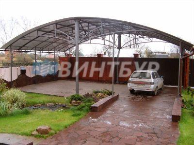 Навесы любой сложности от производителя в Томске.