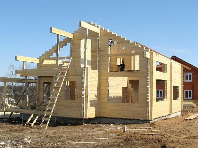 Строительство дома своими руками под ключ из бруса 72