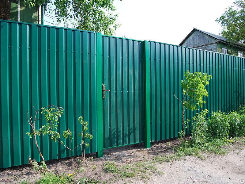 Заборы в Томске по доступным ценам, заборы из профнастила, строительство заборов и ограждений с гарантией, полный спектр услуг!